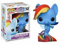 Imagen de My Little Pony Movie POP! Movies Vinyl Figuren Rainbow Dash Sea Pony 9 cm