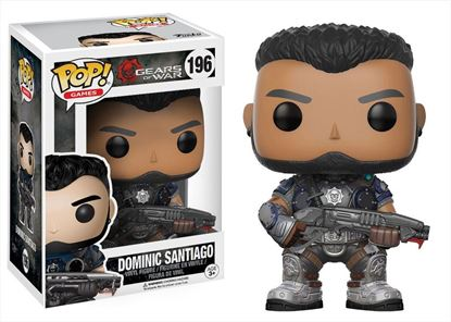Imagen de Gears of War POP! Games Vinyl Figura Dominic Santiago 9 cm