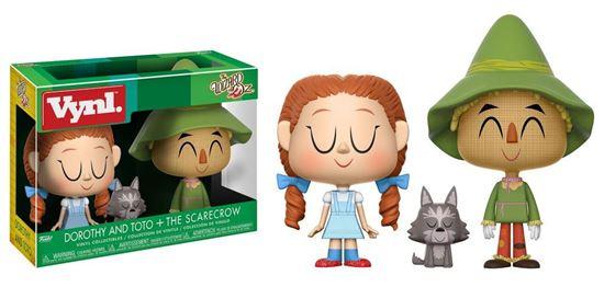 Foto de El Mago de Oz Pack de 2 VYNL Vinyl Figuras Dorothy with Toto & Scarecrow 10 cm
