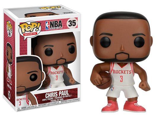 Foto de NBA POP! Sports Vinyl Figura Chris Paul (LA Clippers) 9 cm