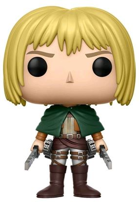 Imagen de Attack on Titan Figura POP! Animation Vinyl Armin Arlert 9 cm