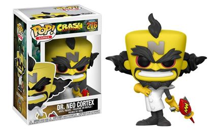 Imagen de Crash Bandicoot POP! Games Vinyl Figura Neo Cortex 9 cm