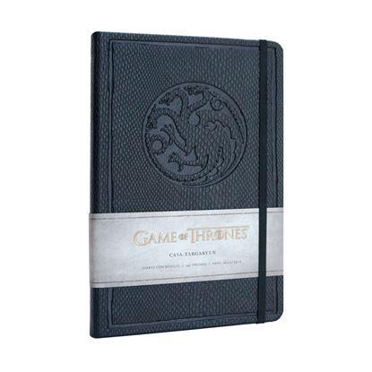 Imagen de Juego de Tronos Libreta Premium A5 Targaryen