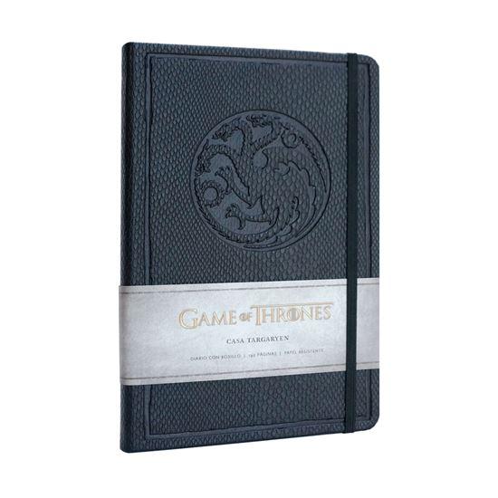 Foto de Juego de Tronos Libreta Premium A5 Targaryen