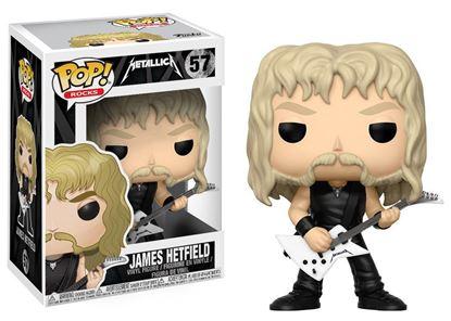 Imagen de Metallica POP! Rocks Vinyl Figura James Hetfield 9 cm