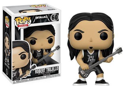 Imagen de Metallica POP! Rocks Vinyl Figura Robert Trujillo 9 cm