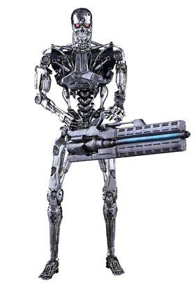 Imagen de Terminator Genisys Figura Movie Masterpiece 1/6 Endoesqueleto 33 cm