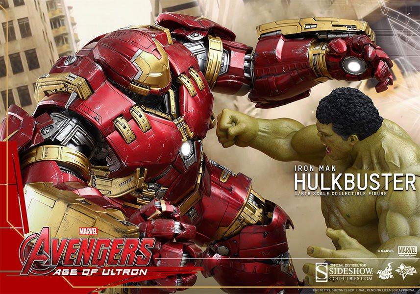 Imagen de Vengadores La Era de Ultrón Figura Movie Masterpiece 1/6 Hulkbuster 55 cm