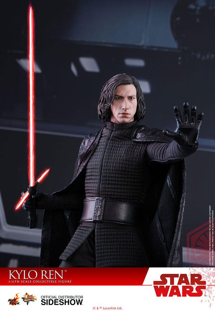 Imagen de Star Wars Episode VIII Figura Movie Masterpiece 1/6 Kylo Ren 33 cm