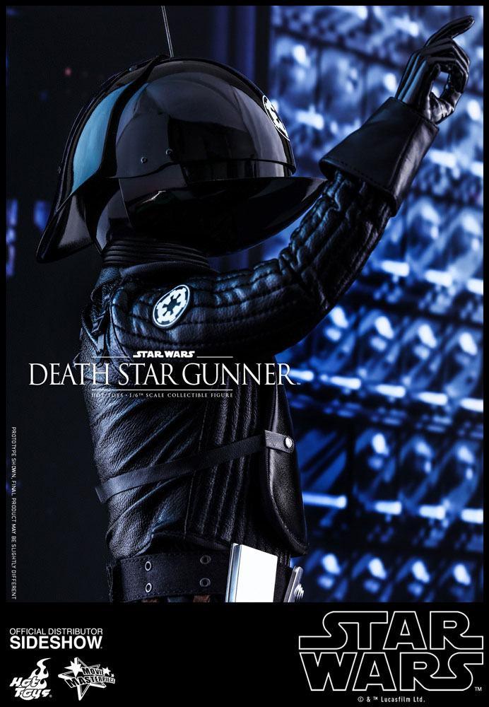 Imagen de Star Wars Episode IV Figura Movie Masterpiece 1/6 Death Star Gunner 30 cm