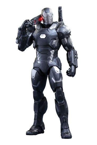 Foto de Captain America Civil War Figura Movie Masterpiece Diecast 1/6 War Machine Mark III 32 cm