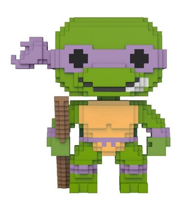 Imagen de Tortugas Ninja 8-Bit POP! Vinyl Figura Donatello 9 cm