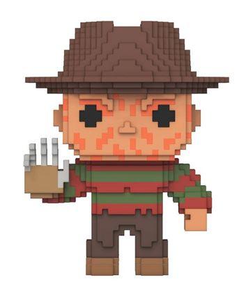 Imagen de Pesadilla en Elm Street 8-Bit POP! Horror Vinyl Figura Freddy Krueger 9 cm
