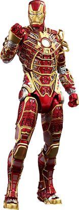 Imagen de Iron Man 3 Figura MMS Diecast 1/6 Iron Man Mark XLI Bones Hot Toys Summer Exclusive