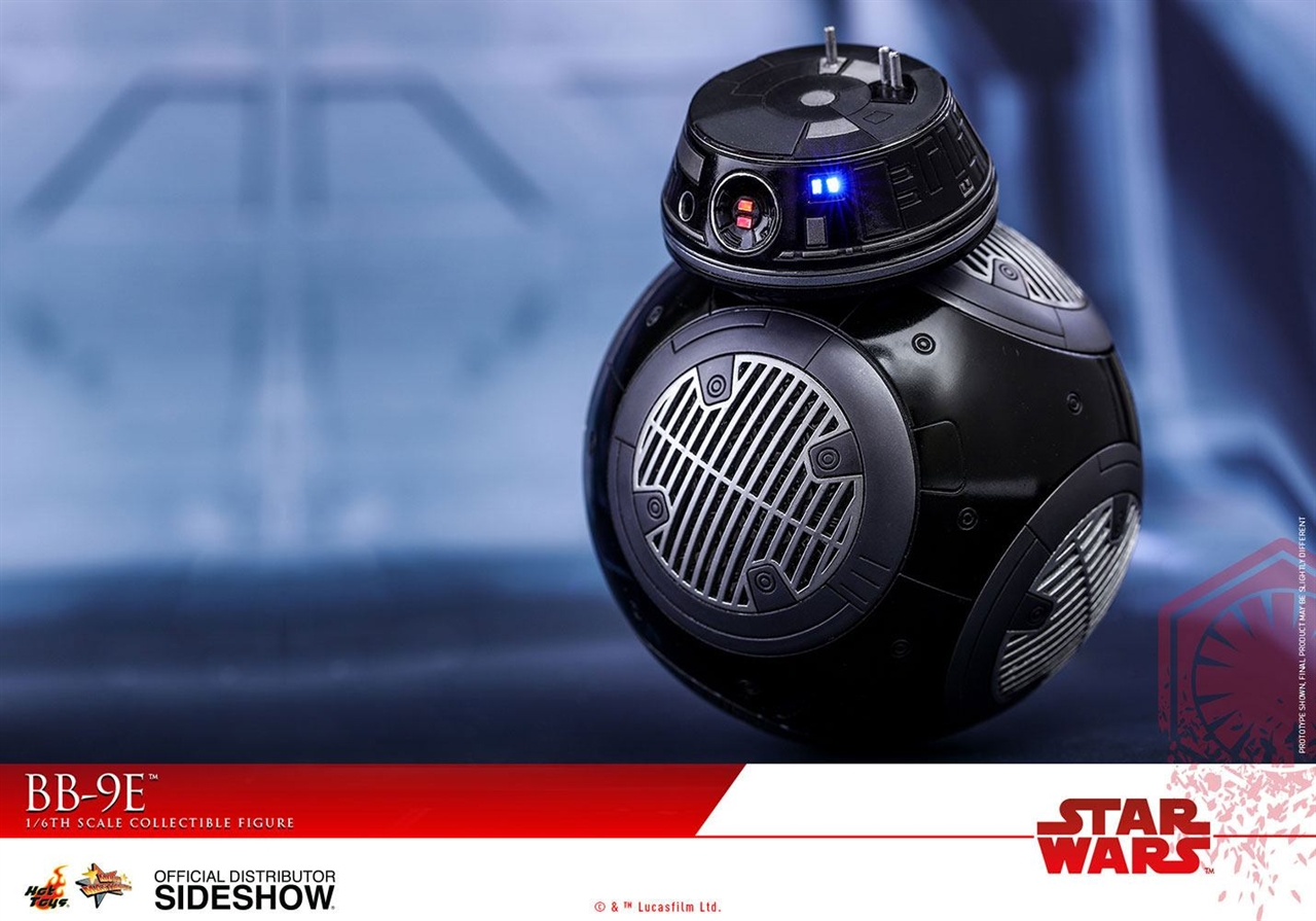 Imagen de Star Wars Episode VIII Figura Movie Masterpiece 1/6 BB-9E 11 cm