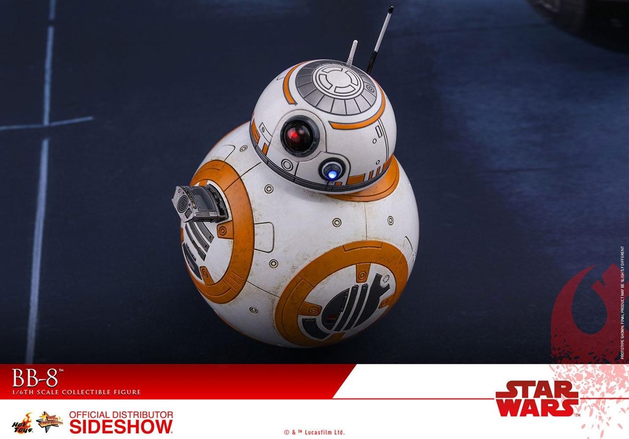 Imagen de Star Wars Episode VIII Figura Movie Masterpiece 1/6 BB-8 11 cm