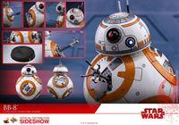 Foto de Star Wars Episode VIII Figura Movie Masterpiece 1/6 BB-8 11 cm