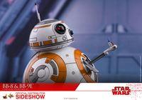 Foto de Star Wars Episode VIII Pack de 2 Figuras Movie Masterpiece 1/6 BB-8 & BB-9E 11 cm