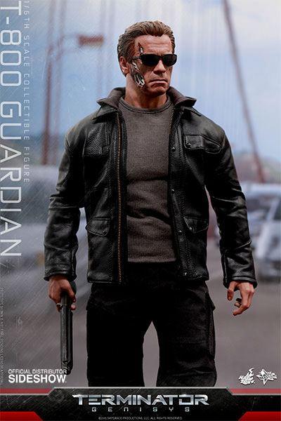 Imagen de Terminator Genisys Figura Movie Masterpiece 1/6 T-800 Guardian 32 cm