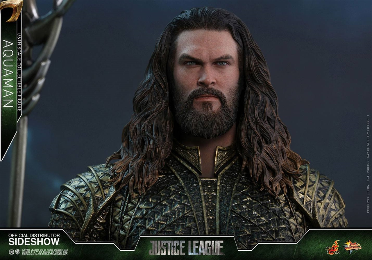 Imagen de Justice League Figura Movie Masterpiece 1/6 Aquaman 30 cm