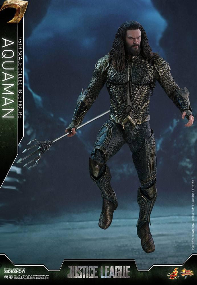 Imagen de Justice League Figura Movie Masterpiece 1/6 Aquaman 30 cm