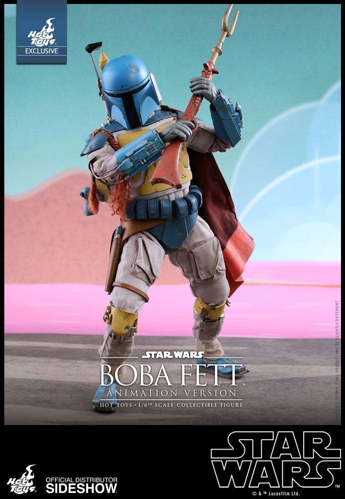 Imagen de Star Wars Figura Television Masterpiece 1/6 Boba Fett Animation Ver. Sideshow Exclusive 30 cm