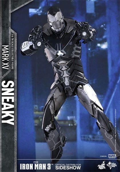 Imagen de Iron Man 3 Figura Movie Masterpiece 1/6 Iron Man Mark XV Sneaky 31 cm