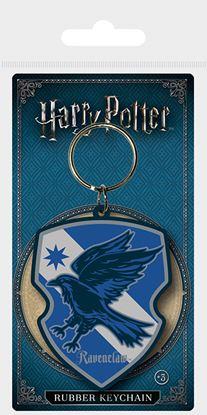Imagen de Harry Potter Llavero Caucho Escudo Ravenclaw