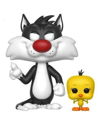 Imagen de Looney Tunes POP! Television Vinyl Figura Sylvester & Tweety 9 cm