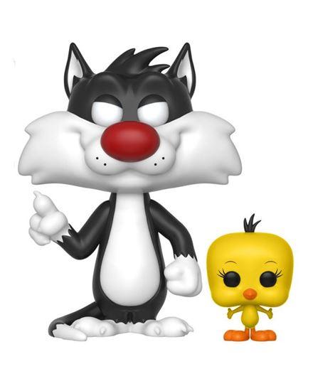 Foto de Looney Tunes POP! Television Vinyl Figura Sylvester & Tweety 9 cm