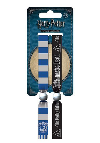 Foto de Pack de 2 Pulseras de Festival Ravenclaw - Harry Potter