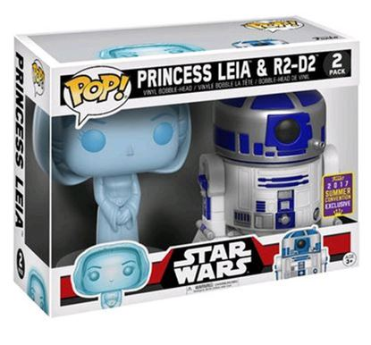 Imagen de FIGURA POP PACK STAR WARS: RD-D2 AND LEIA HOLO DISPONIBLE APROX:FEBRERO 2018