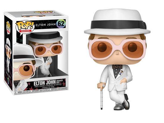 Foto de Elton John POP! Rocks Vinyl Figura Elton John Greatest Hits 9 cm