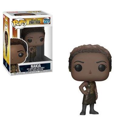 Imagen de Black Panther Movie POP! Movies Vinyl Figura Nakia 9 cm