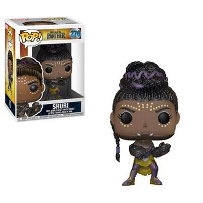 Imagen de Black Panther Movie POP! Movies Vinyl Figura Shuri 9 cm