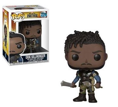 Imagen de Black Panther Movie POP! Movies Vinyl Figuren Killmonger 9 cm