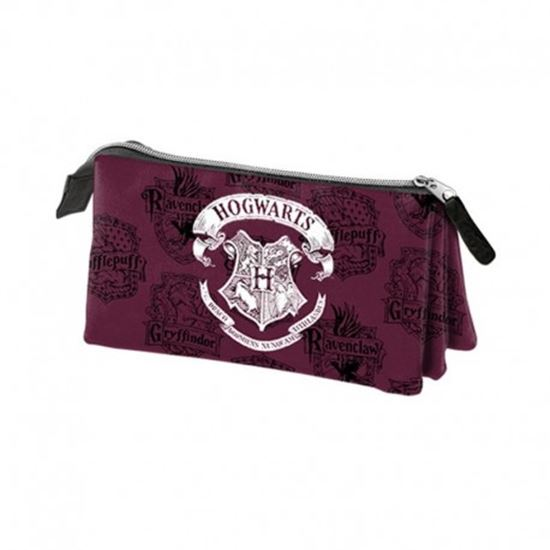 Foto de Estuche Triple Hogwarts - Harry Potter