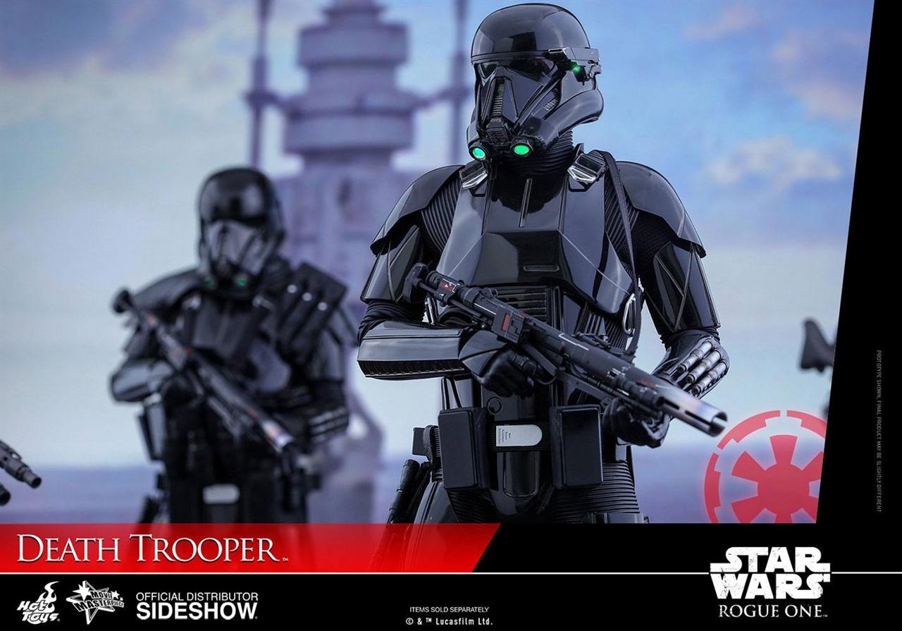Imagen de Star Wars Rogue One Figura Movie Masterpiece 1/6 Death Trooper 32 cm