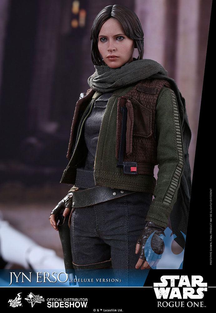 Imagen de Star Wars Rogue One Figura Movie Masterpiece 1/6 Jyn Erso Deluxe Version 27 cm