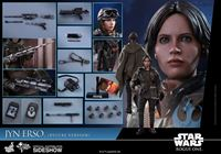 Foto de Star Wars Rogue One Figura Movie Masterpiece 1/6 Jyn Erso Deluxe Version 27 cm
