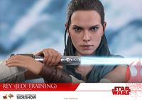 Foto de Star Wars Episode VIII Figura Movie Masterpiece 1/6 Rey Jedi Training 28 cm