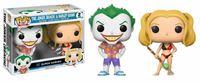Imagen de DC Comics Pack de 2 POP! Heroes Vinyl Figuras Beach Joker & Harley 9 cm