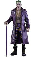 Imagen de Escuadrón Suicida Figura Movie Masterpiece 1/6 The Joker (Purple Coat Version) 30 cm