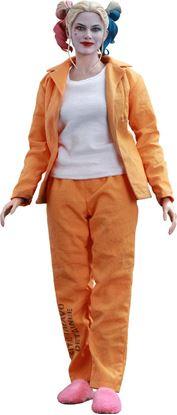 Imagen de Escuadrón Suicida Figura Movie Masterpiece 1/6 Harley Quinn (Prisoner Version) 28 cm