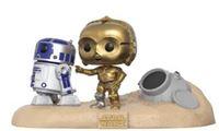Imagen de Star Wars Pack de 2 POP! Movie Moments Vinyl Cabezón Escape Pod Landing 9 cm