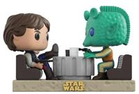 Imagen de Star Wars Pack de 2 POP! Movie Moments Vinyl Cabezón Cantina Faceoff 9 cm DISPONIBLE APROX:ENERO 2018