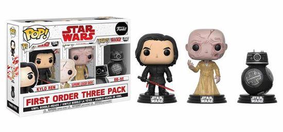 Foto de Star Wars Episode VIII Pack de 3 Figuras POP! Vinyl First Order 9 cm
