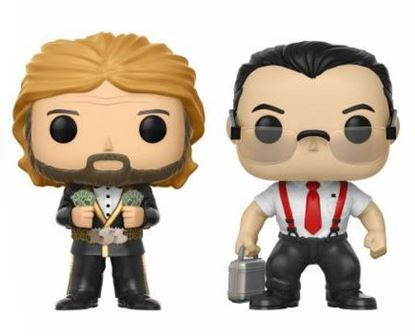 Imagen de WWE Pack de 2 POP! Vinyl Figuras IRS & Million Dollar Man 9 cm DISPONIBLE APROX:ENERO 2018