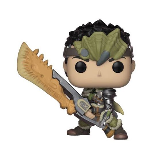 Foto de Monster Hunter Figura POP! Games Vinyl Male Hunter 9 cm