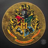 Imagen de Harry Potter Felpudo-Alfombra Circular Hogwarts Crest